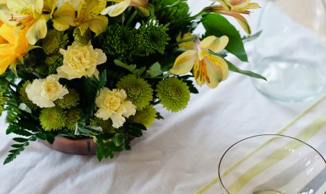 Fresh Arrangement yellow