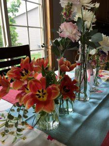 Table setting bshower