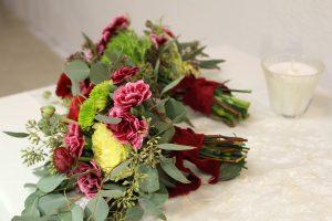 Bridesmaids red