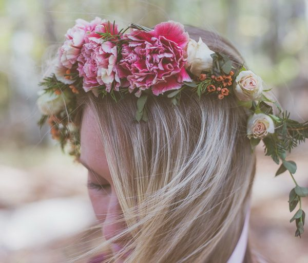 Carnation Flower Crown