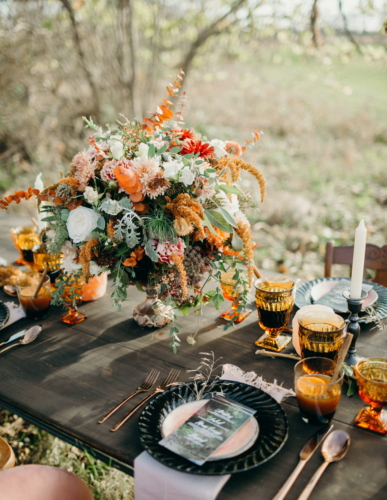 Mystic Harvest Tablescape