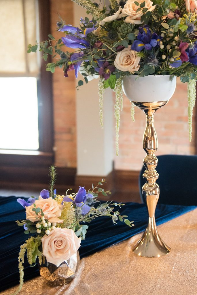 Candlestick table centerpiece