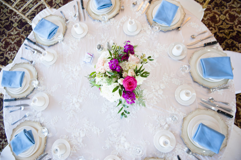 Wedding Flowers Centerpieces Reception tables