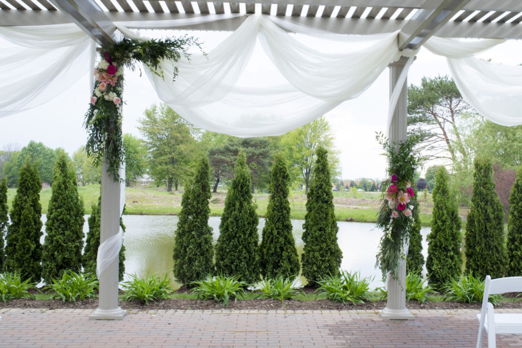 Wedding Ceremony Flowers Arch