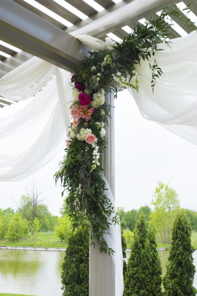 Wedding Arch Florals Ceremony installation