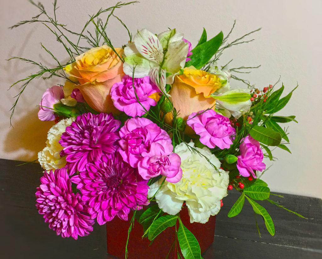 Bouquet fresh locally grown Detroit