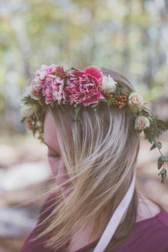 Carnation Flower Crown