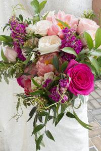 Bridal Bouquet pink coral