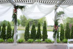Wedding Ceremony Flowers Arch
