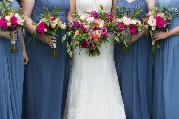 Wedding Flowers Bridal Party Bouquets
