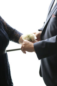 wrist corsage bridal party