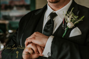 Groom Boutonniere Star Wars Theme, May the 4th be with you