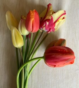 Tulips Spring Bouquet