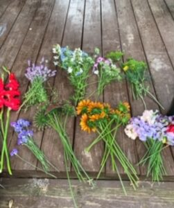 locally grown blooms